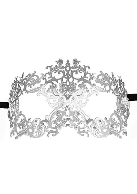 Ouch! - Skov-dronning Masquerade Mask  - Silver