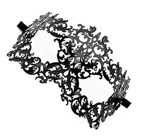Ouch! - Skov-dronning Masquerade Mask  - Sort