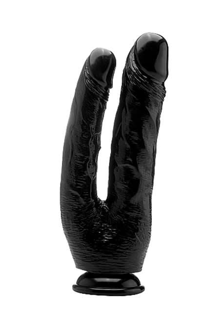Real Rock© - 25,5 cm - Realistic Dobbelt Cock (10