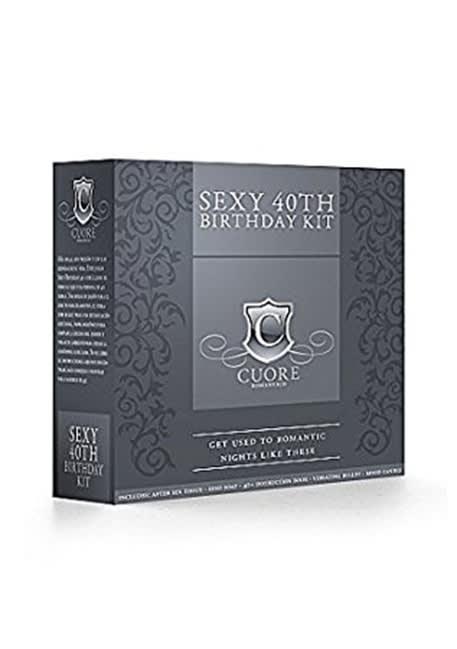 Sexy 40th - Fødselsdagssæt fra Cuore Romantico