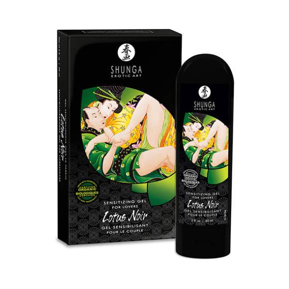 Shunga - Lotus Noir - Stimulerende Gel til hende
