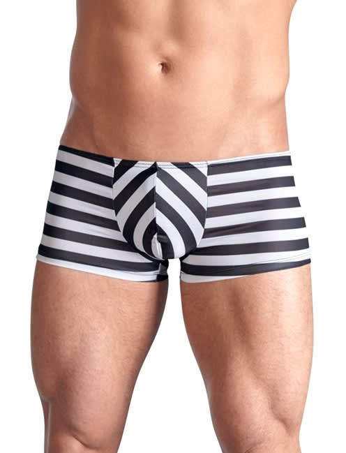Svenjoyment - Men´s Pants with Metal Handcuffs - Randiga boxershorts