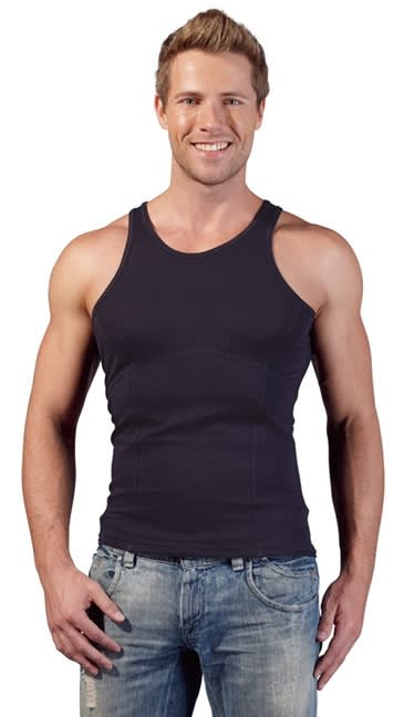 Svenjoyment - Men´s Stomach Reduction Shirt - Undertrøje - Opstrammende