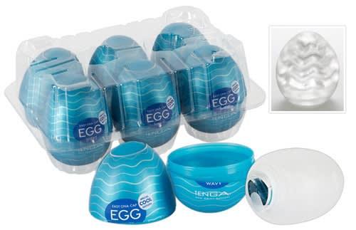 Tenga Egg Cool Masturbator 6 kpl