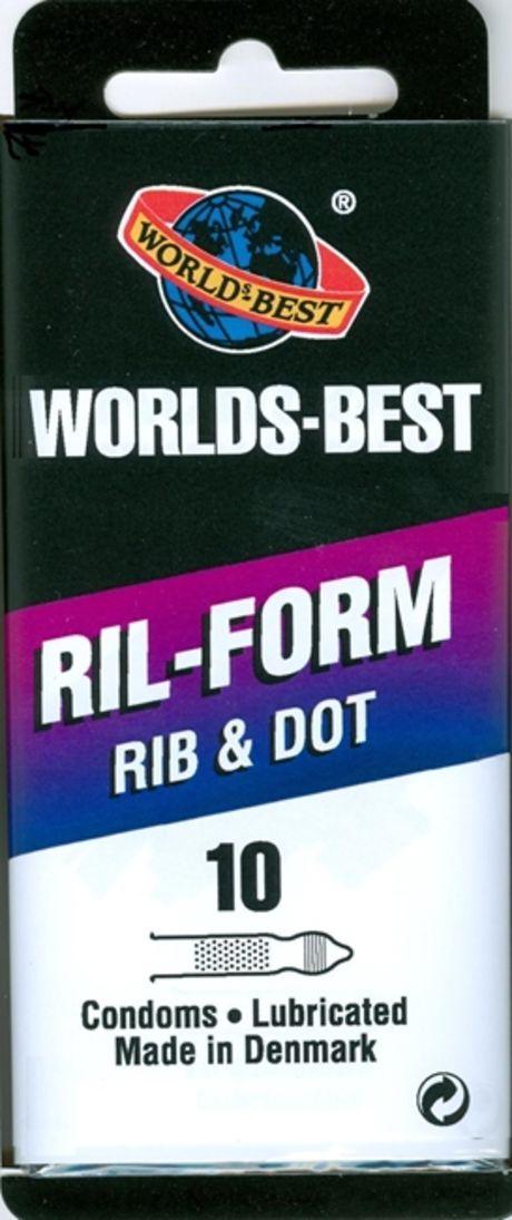 10 stk. MEDIUM - Ril-Form - med creme