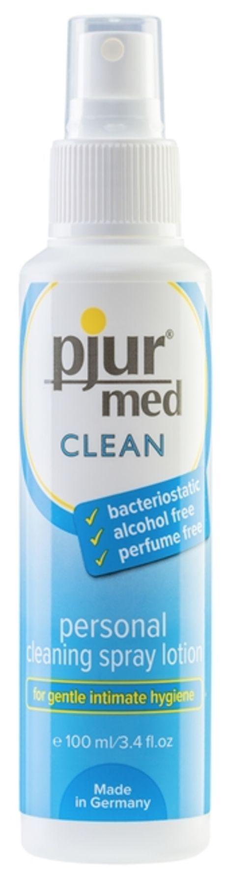 100 ml pjur med CLEAN Spray – Puhdistussuihke Intiimialuille ja Seksivälineille