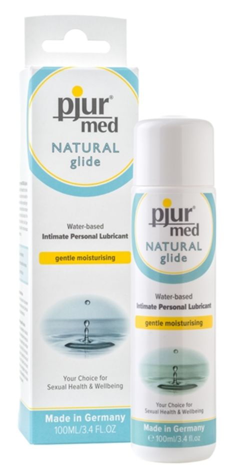 100 ml pjur MED Natural glide – Kuivalle ja Herkälle Iholle