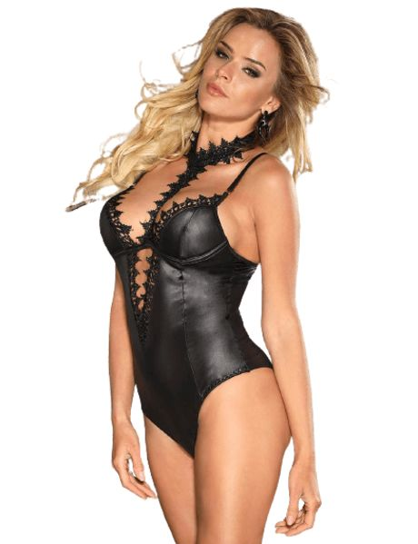 by LUANA - VALLETTA Eksklusiv Ciré Body med Halsstykke (R80663|M|One size)