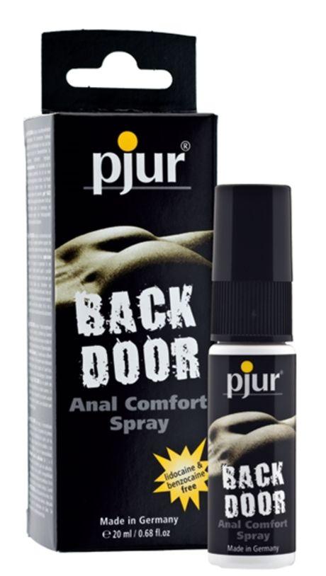 20 ml pjur backdoor Spray – Erityisesti Anaaliseksiin – Pitää Ihon Joustavana