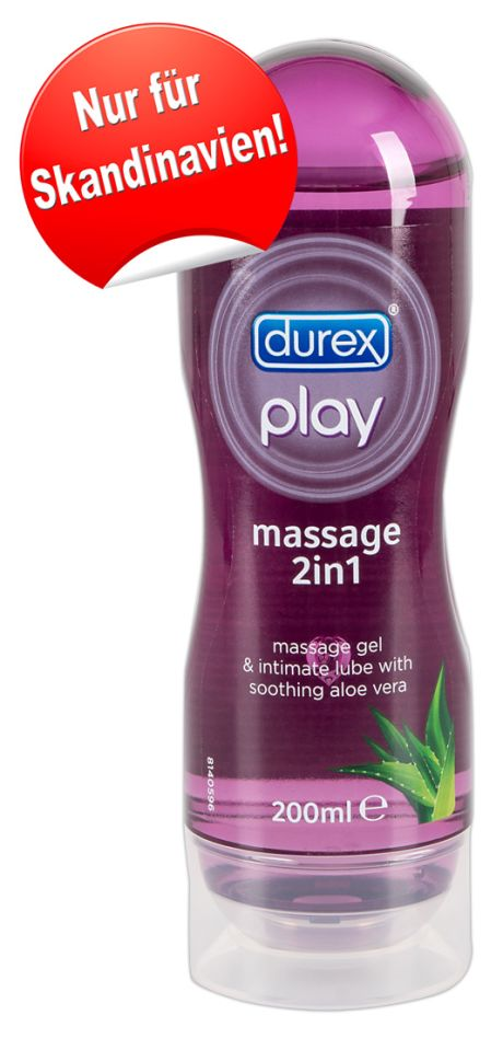 200 ml Durex Play 2in1 Aloe Vera