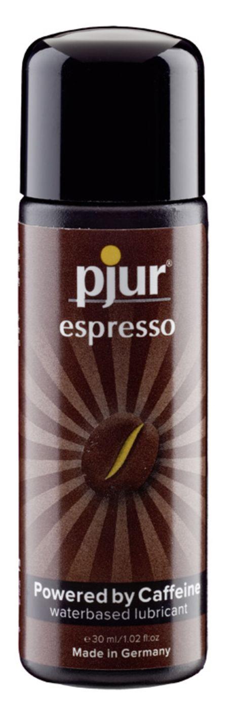 30 ml pjur Espresso – Stimuloiva, Kofeiiniä Sisältävä Liukuvoide