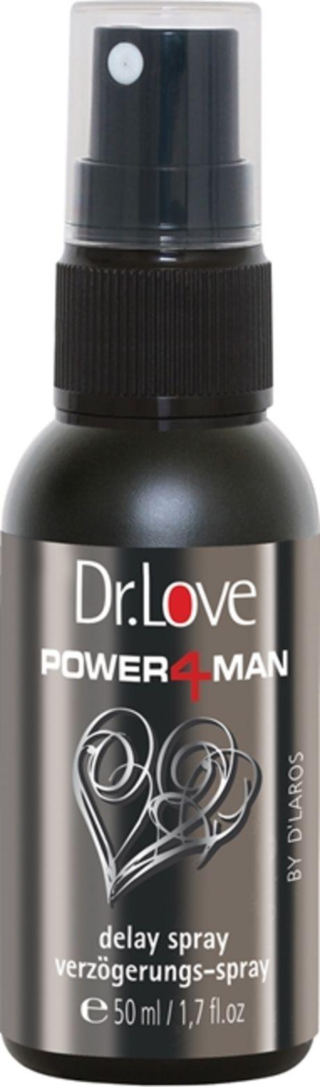 50 ml Dr. Love – Power4Man – Delay Spray Viivästyssuihke