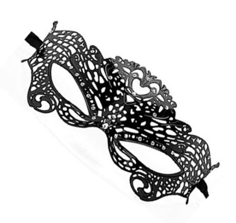 Ouch! - Butterfly Masquerade Mask  - Sort
