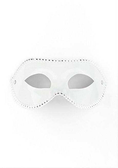 Ouch! - Maske til fest - Hvit