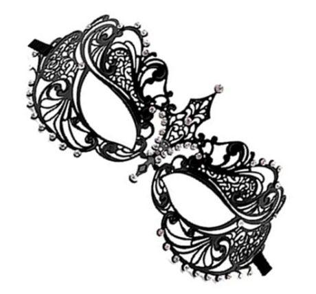 Ouch! - Phantom Masquerade Mask  - Sort