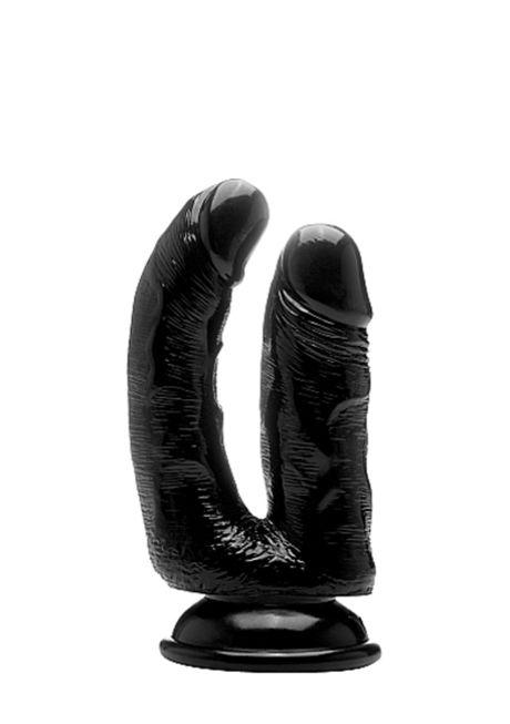 Real Rock© - 16,5 cm - Realistic Dobbelt Cock (6,5