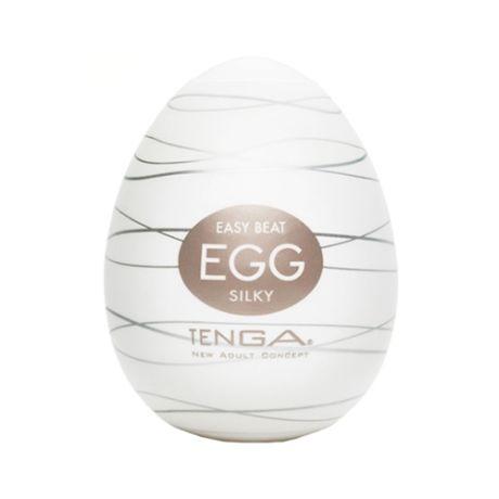 Tenga Egg Silky Single Masturbator