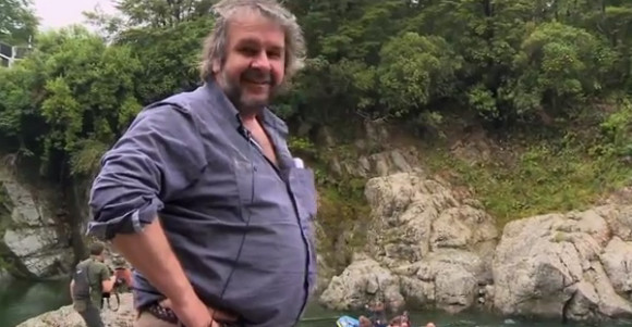 peter jackson THE HOBBIT production video
