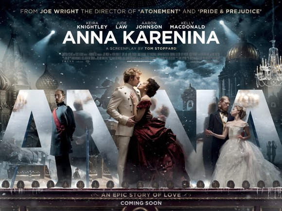 Anna Karenina by Joe Wright