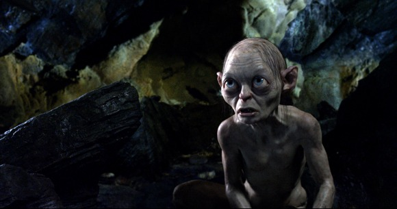 Gollum in The Hobbit an Unexpected Journey
