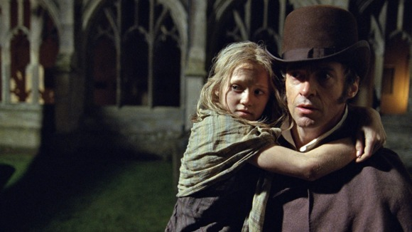 Jean Valjean and Cazette.