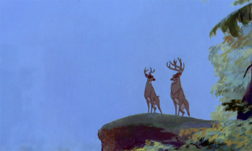 Bambi and his Father