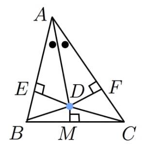 二等辺三角形であることの証明