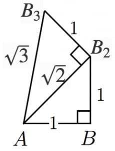 平方根の作図
