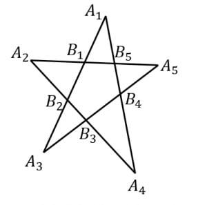 ペンタグラムに関する定理