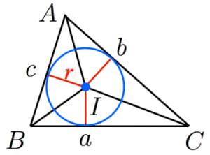内接円の半径1