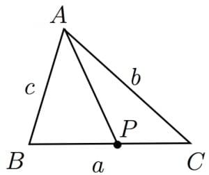 スチュワートの定理