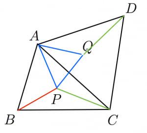 フェルマー点の証明1