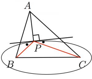 フェルマー点の証明2