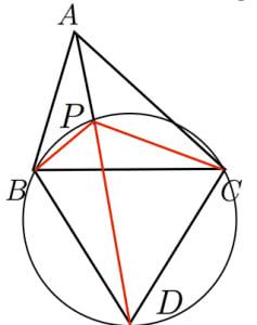 フェルマー点の証明3