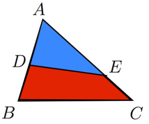 面積比の公式2