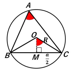 正弦定理の証明