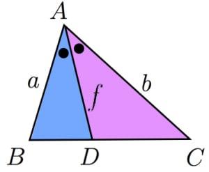二等分線と面積