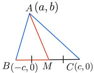 中線定理の証明