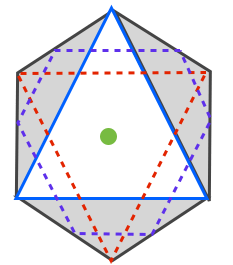 正八面体を上から見た図と東大の問題 | 高校数学の美しい物語