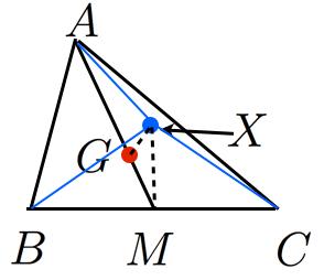 中線定理を用いた証明