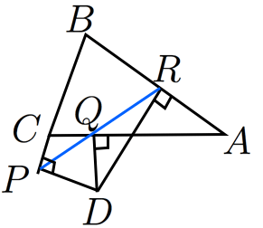 シムソンの定理の証明