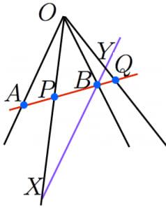 複比が不変であることの証明2
