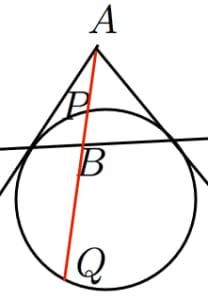 調和点列と極線