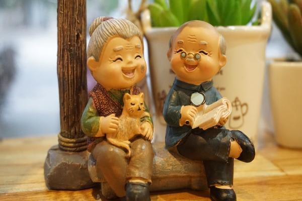 幸せな老後のイメージ
