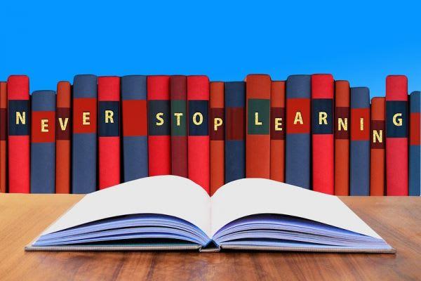 「学び続けよう」