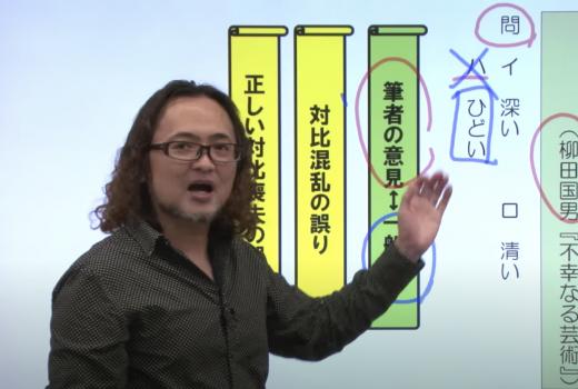 小柴大輔先生の授業風景