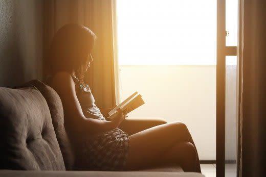 朝方の読書