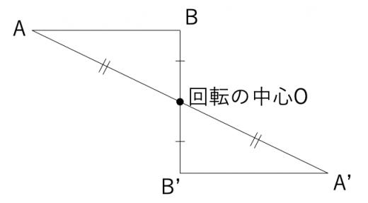 三角形の点対称移動