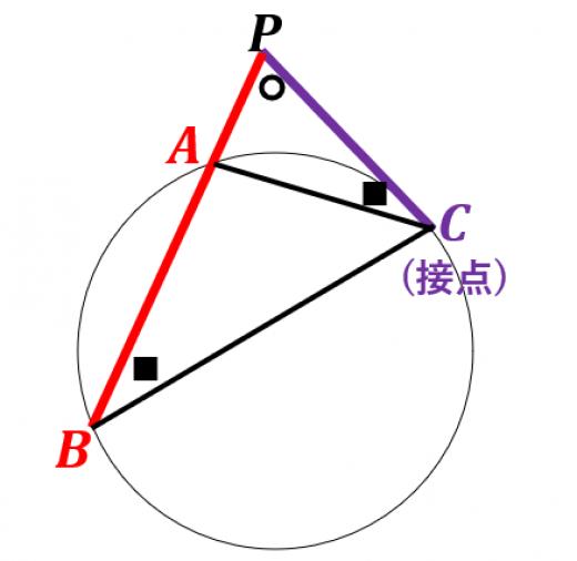 方べきの定理の証明3