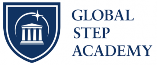 オンラインインターナショナルスクールGloabalStepAcademyのロゴ